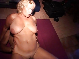 busty mature has anal