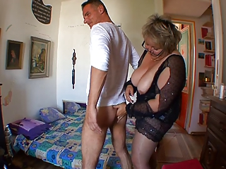 French mature chubby teacher Carole
