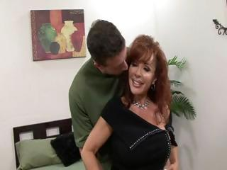 Vanessa Bella is a hot MILF with nice boobies who  gets fucked by a young stud