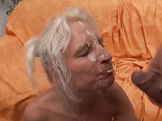 German Mature Blonde Fucked By BWC