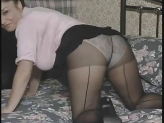 mother in tights Jerk Off Encouragement