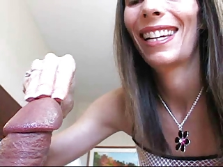 Ugly, but very sexy Stacy and her skillful hands!