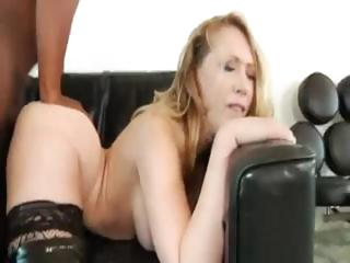 Kagney does some interracial coitus with a black brute's boner