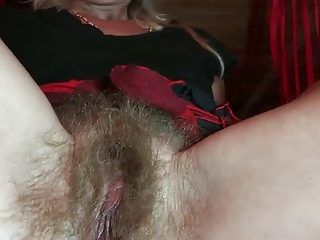 Hairy Blonde Mature by TROC