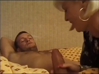 Blonde French Mom Wants It In The Ass