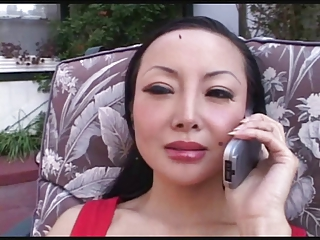 SEXY MOM 49 asian mature with a black dick