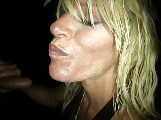 Whore Wife loves the Gloryhole (Chelsea Handler)