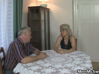 GF inside three some surrounding her BF parents